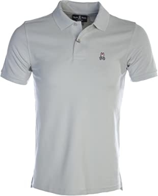 Psycho Bunny Basic Polo Shirt in Silver