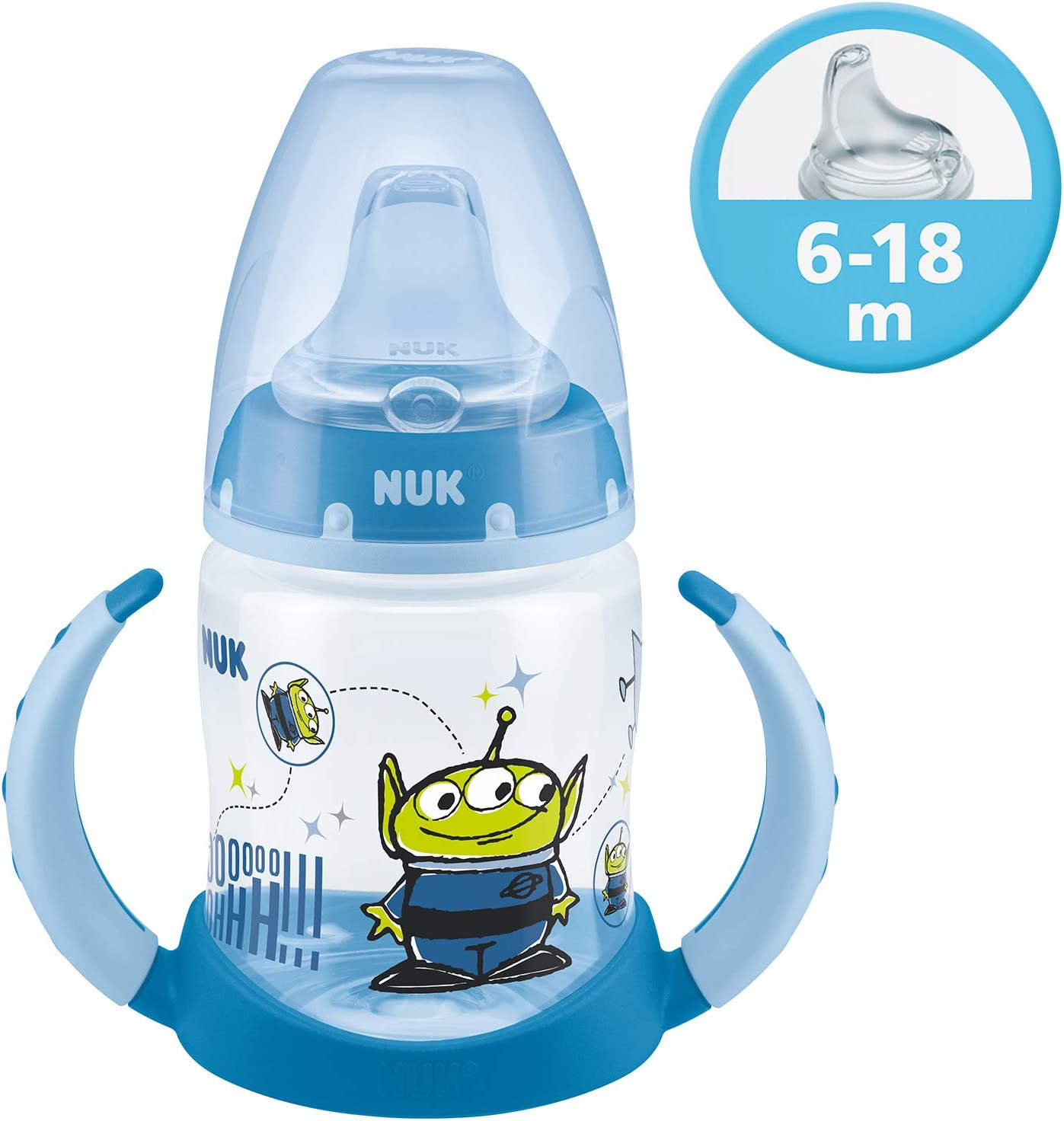 Blue NUK First Choice Plus Toy Story 4 Learner Bottle 123 g