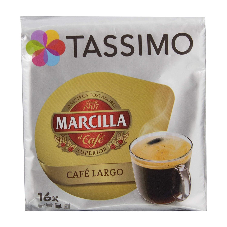 Capsulas Tassimo Marcilla Café Largo 80 bebidas NOVEDAD: Amazon.es ...