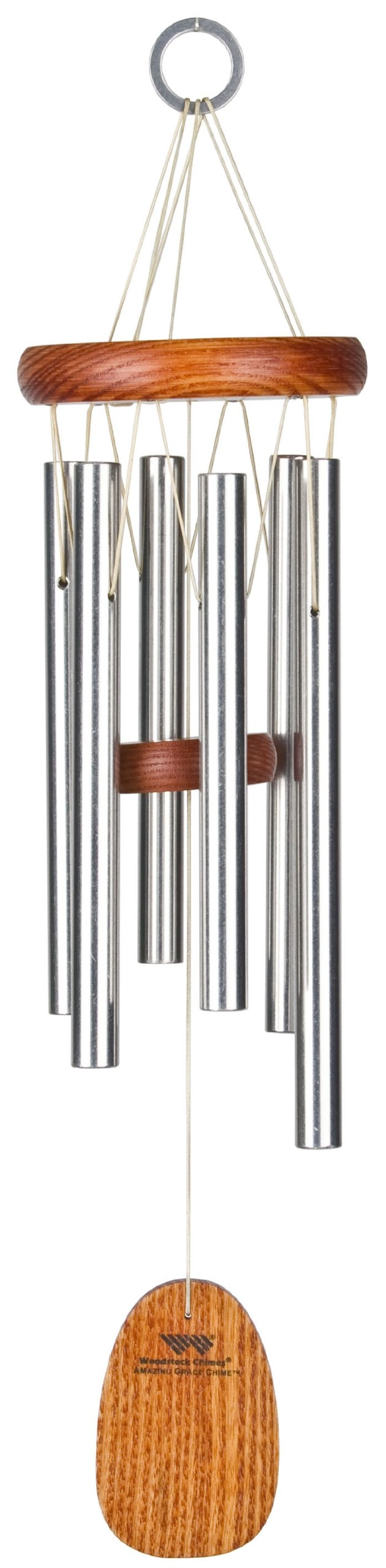 Woodstock Chimes AGSS Amazing Grace Chime, Small Silver