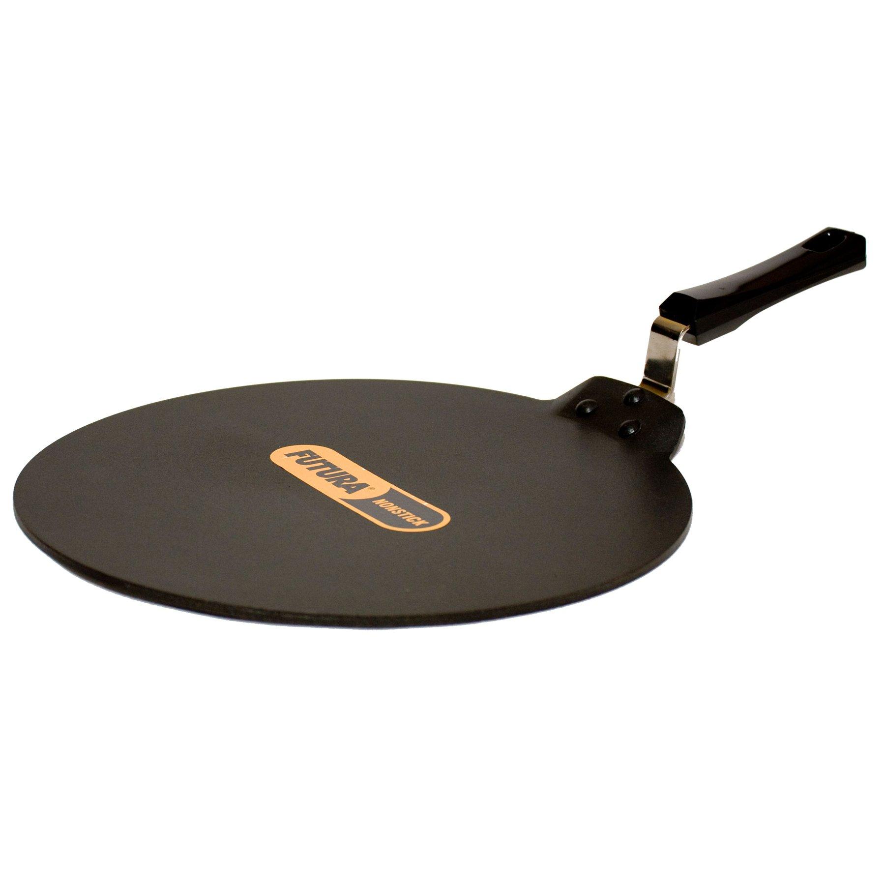 Futura Q41 Nonstick Flat Dosa Tava/Griddle, 13-Inch