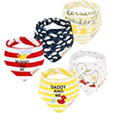 Baby Bandana Drool Bibs for Drooling and Teething Gift Set for Boys & Girls & Unisex