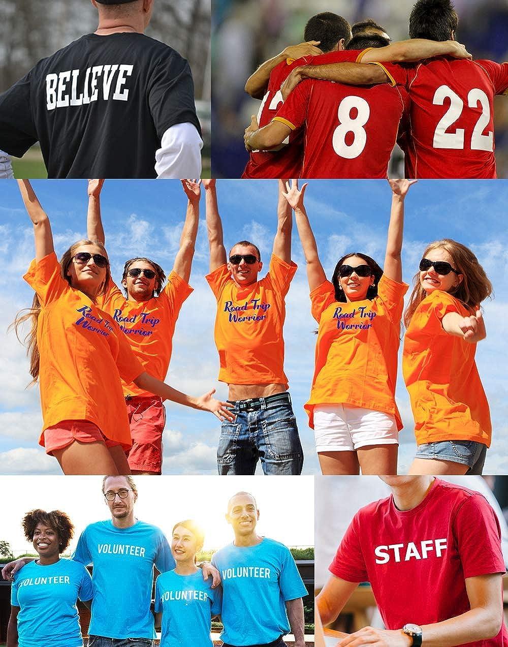 Custom T Shirts Ultra Soft Add Your Text for Men /& Women Unisex Cotton T Shirt