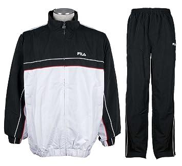Fila - Chandal blanco/negro ap00534, talla S: Amazon.es: Deportes ...