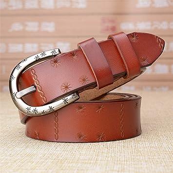 HYDYI-PD Cinturones de Cuero para Damas e44cdad20266