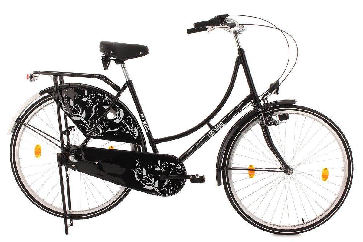 KS Cycling Damen Fahrrad Hollandrad Tussaud 3-Gänge Bellefleur ...