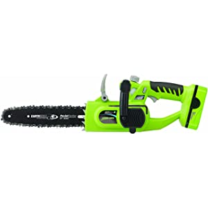 Earthwise LCS31010 Cordless Electric Chain Saw Review