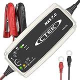 CTEK MXS 7.0 - Vollautomatisches Batterieladegerät (Grundladung, Erneuerung, Erhaltungsladung von Auto-, Caravan und Wohnmobilbatterien) 12V, 7 A - EU Stecker