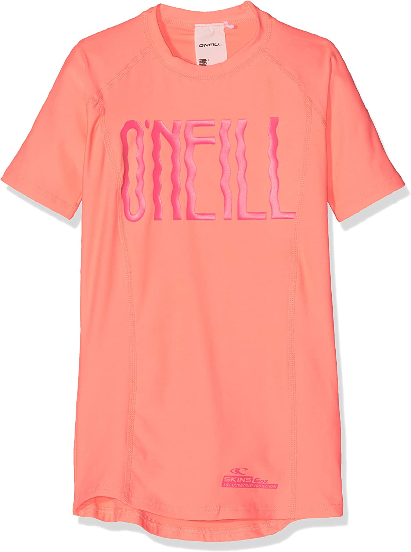 ONeill Girls Pg Logo Short Sleeve Skins Skins