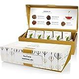 Tea Forté Warming Joy Petite Presentation Box Featuring Seasonal & Festive Tea Blends - 10 Handcrafted Pyramid Tea Infusers