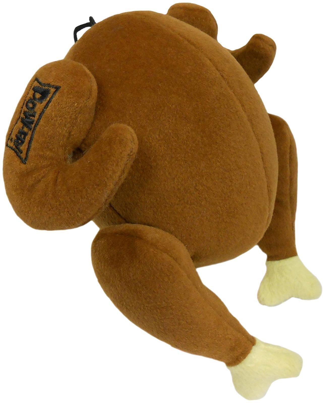 Lulubelles Power Plush Turkey Dog Toy - Small