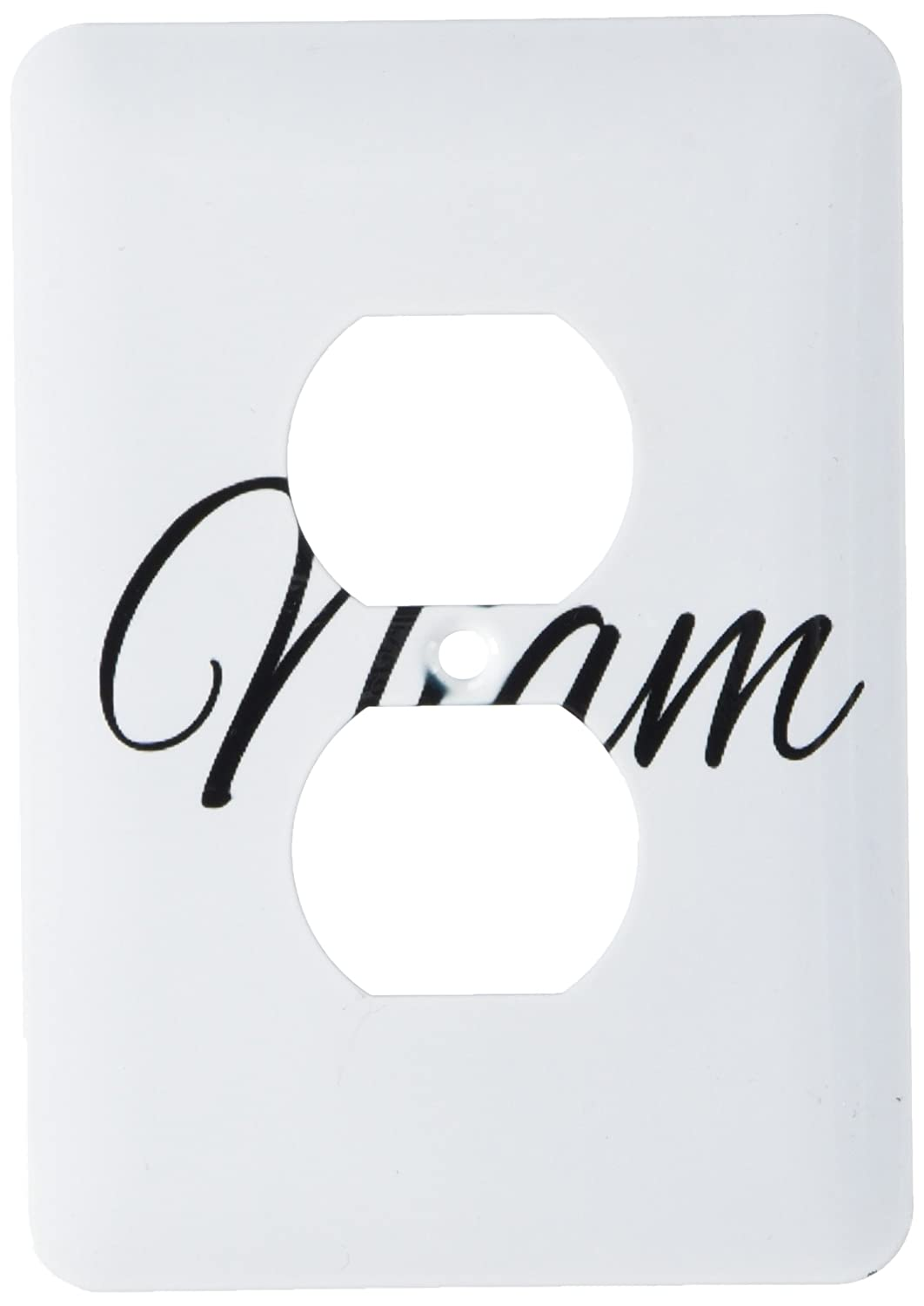 Wall Plates Wall Plates & Accessories 3dRose lsp_193679_6 Niam word