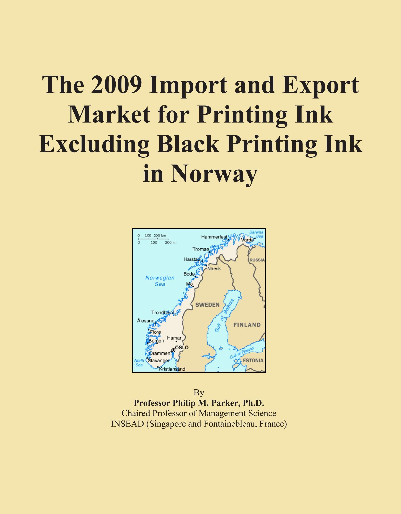 Download The 2009 Import and Export Market for Printing Ink Excluding Black Printing Ink in Norway pdf epub