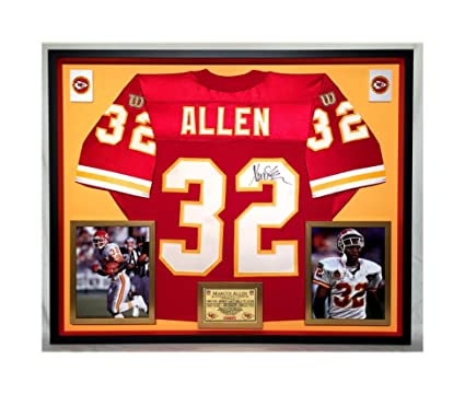new style 31802 f5dd7 Premium Framed Marcus Allen Autographed/Signed Kansas City ...