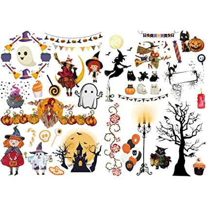 Amazon.com : Seasonstorm Halloween Wizard Pumpkin Waterproof ...