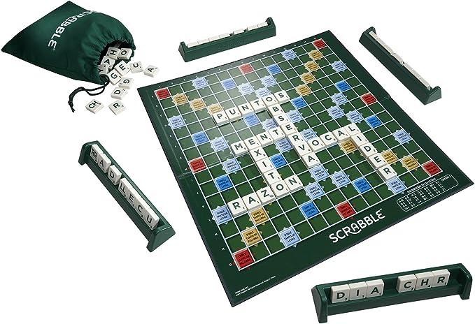 Mattel Games - Scrabble Original, Juego de mesa para adultos y ...