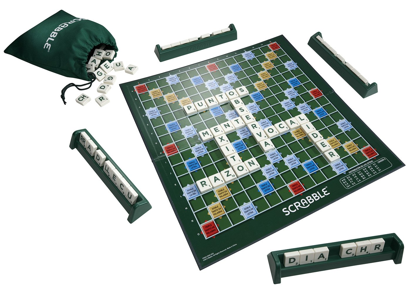 Mattel Games Scrabble Original Juego De Mesa Mattel Y9594 Amazon