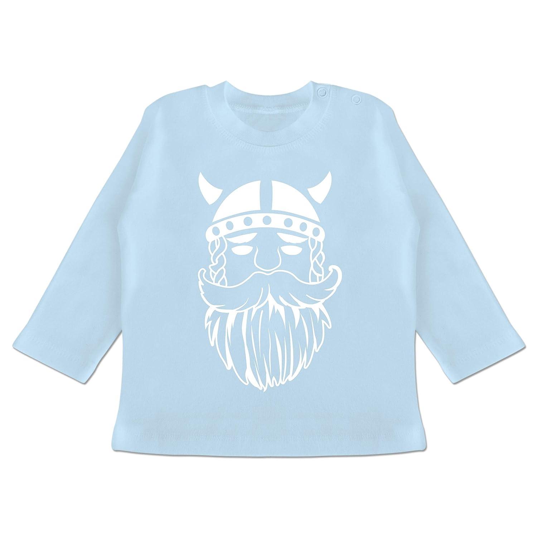 Baby T-Shirt Langarm Bunt gemischt Baby Wikinger