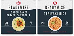 ReadyWise Gluten-Free Emergency Food Entree Box Kit | 40 Servings
