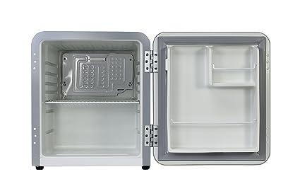 Retro Kühlschrank Silber : Vintage industries ~ mini retro kühlschrank miami 2018 in silber