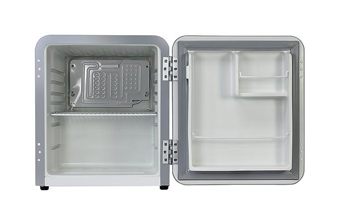 Minibar Kühlschrank Retro : Vintage industries mini retro kühlschrank miami in silber