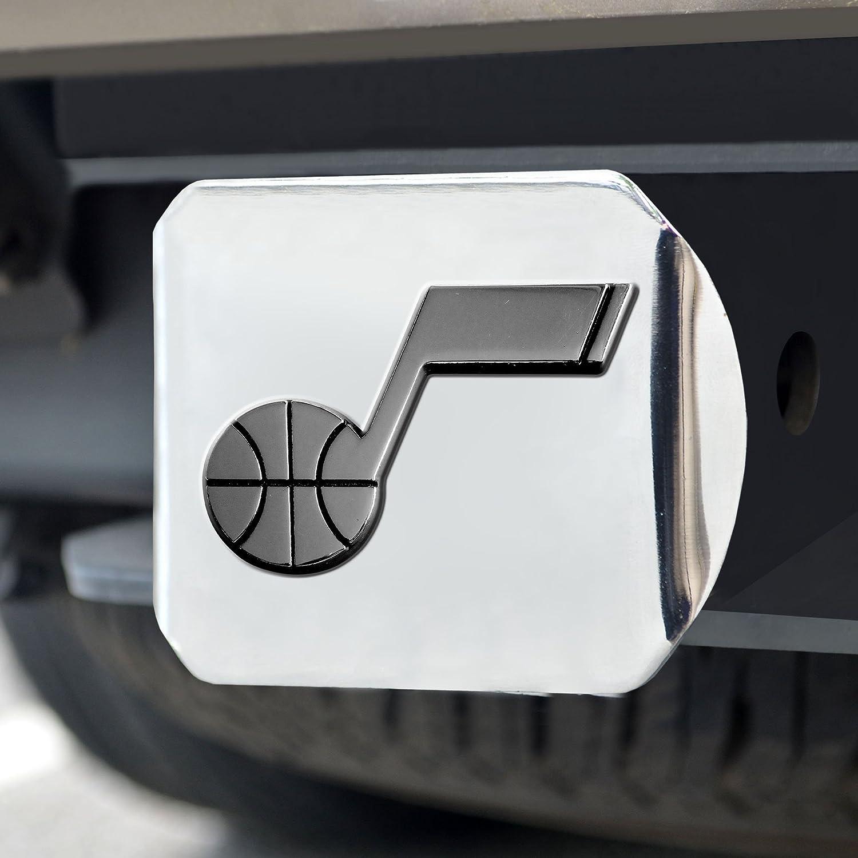 FANMATS  15141  NBA Utah Jazz Chrome Hitch Cover