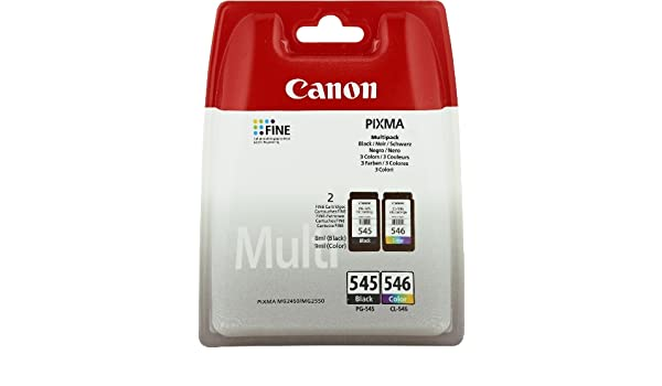 Amazon.com: Canon PG-545/CL-546 Multi-pack (Black,Cyan ...