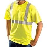Rugged Blue RB-2HVT-HVY-XL ANSI Class 2 Hive's Wicking Shirt, Polyester, Yellow, XL