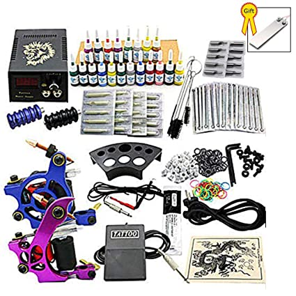 Tattoo Kit Easy Tattoo Machine Kit Profesional, completo 2 ...