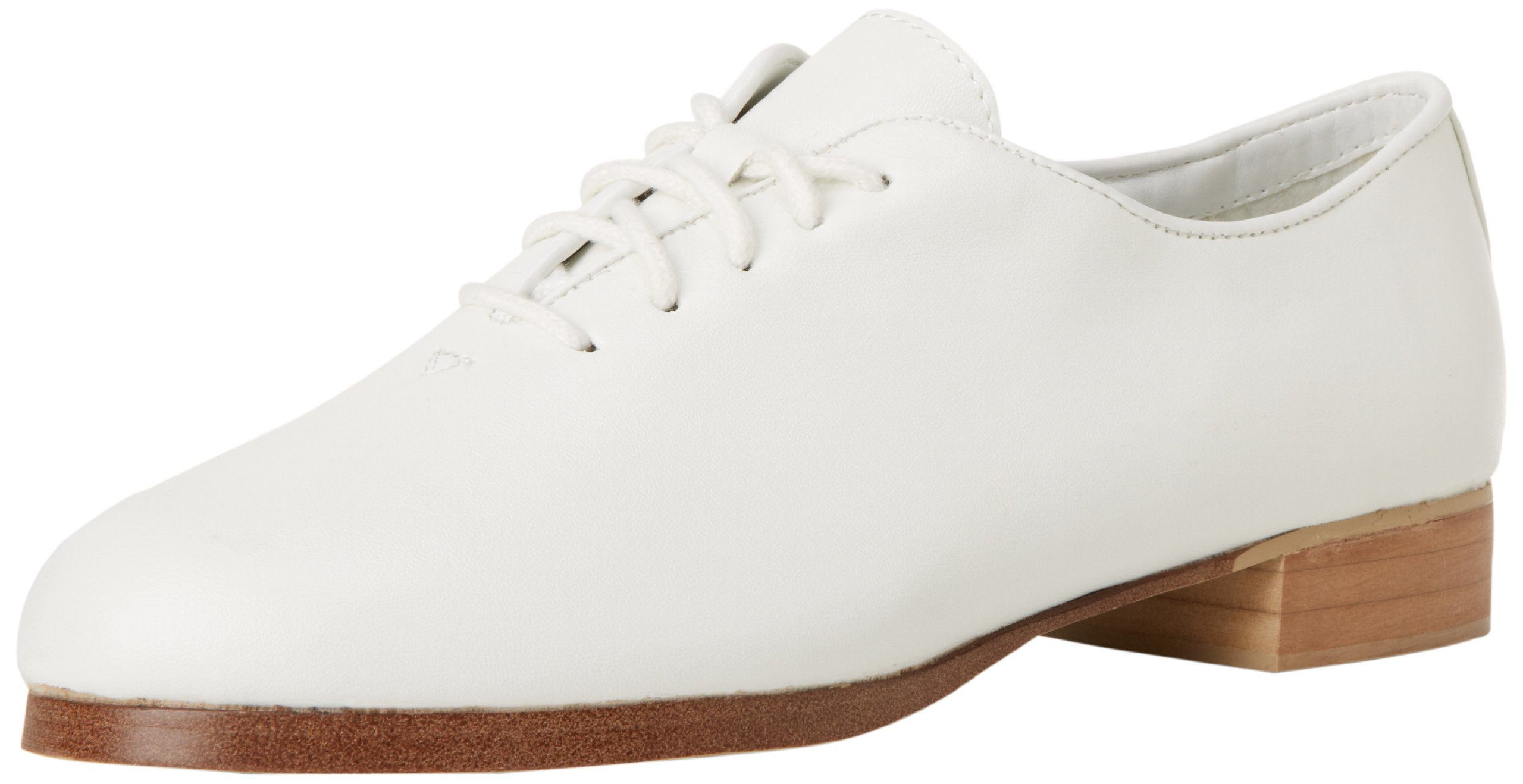 Dance Class Women's PCM401 Full Sole Jazz/Clogging Oxford,White,8.5 M US