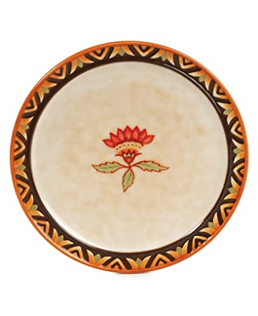 Fitz and Floyd Global Market Party Plate Red Flower  sc 1 st  Amazon.com & Amazon.com | Fitz and Floyd Global Market Party Plate Red Flower ...