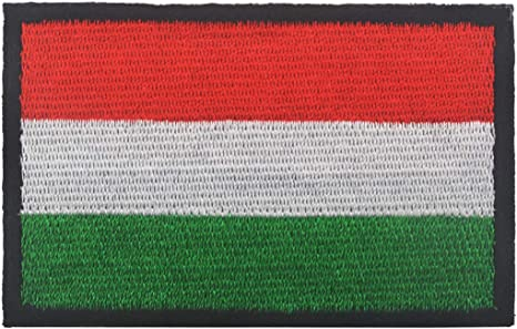 Hungary Hungarian National Country Flag Embroidered Patch Shirt// Jacket Badge