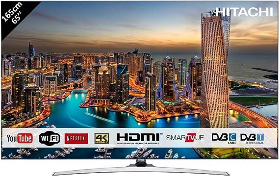 Televisor Hitachi de 65 (165 cm) 4 K OLED UHD 3840 x 2160/Smart ...