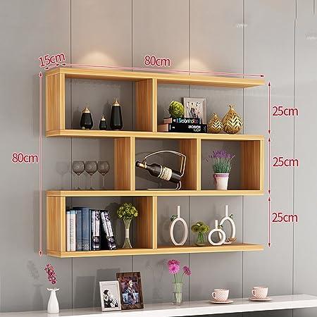 Qin Ping Guo Qpg Shelf Bookshelf Wall Mounted Wall Storage