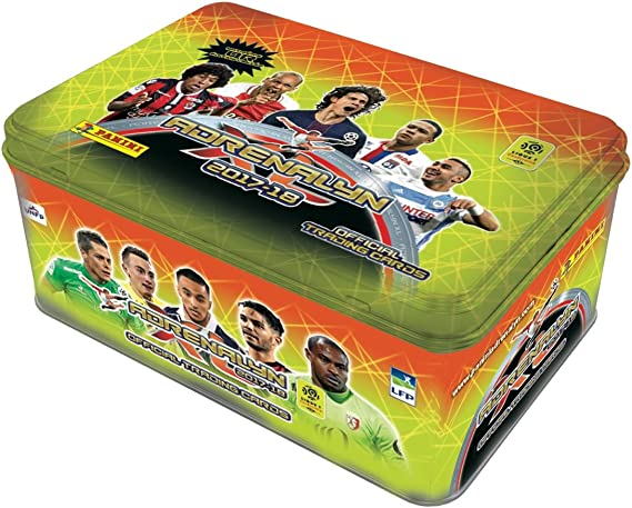Panini Francia sa 2320 – 021 Foot Adrenalyn Caja Metal: Amazon.es: Juguetes y juegos