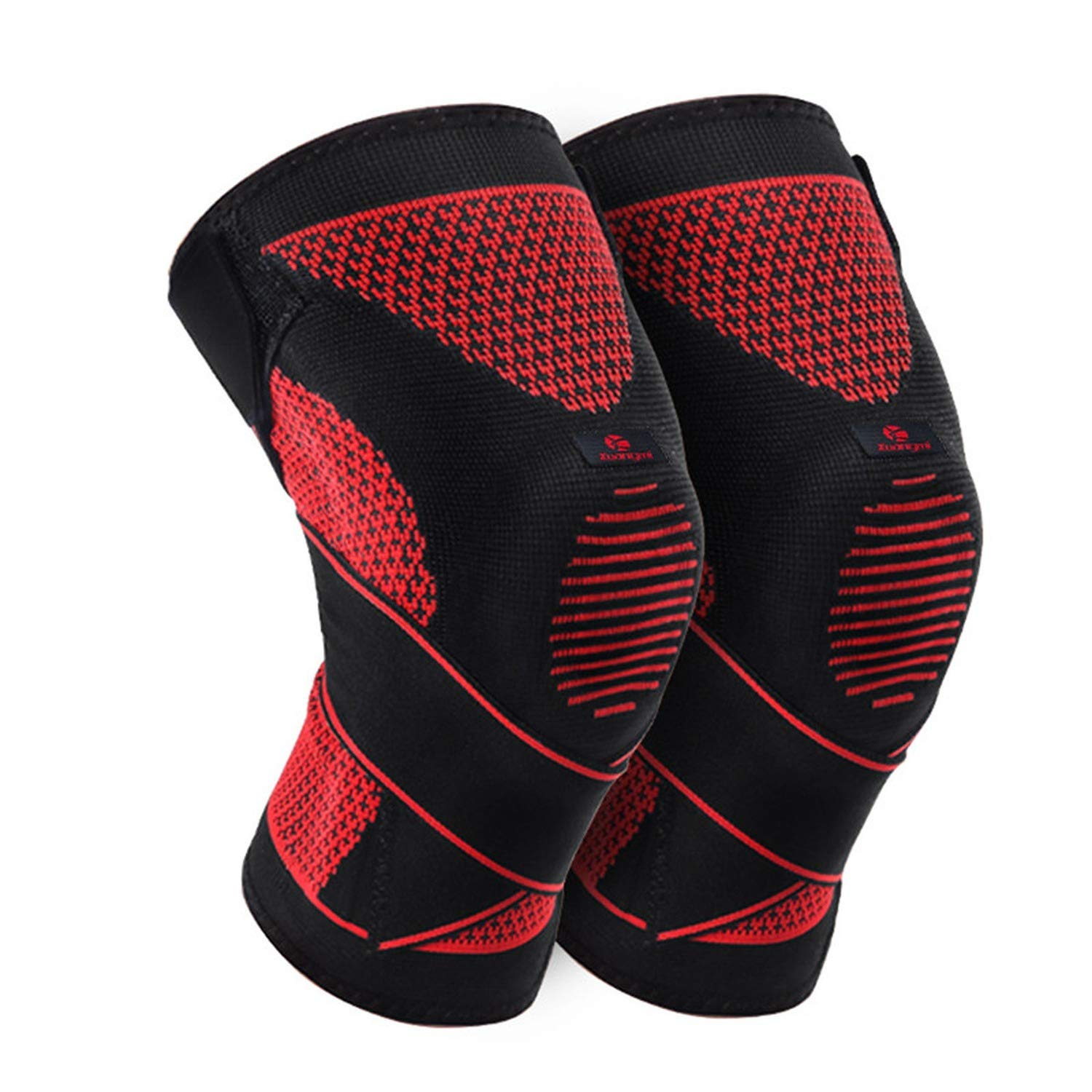 1 Pc Women Men Compression Knee Sleeve Support Relief Sports Silicones Basketball Protector,S