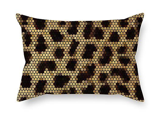 elegancebeauty Fundas de almohada de piel de serpiente, 50 x ...