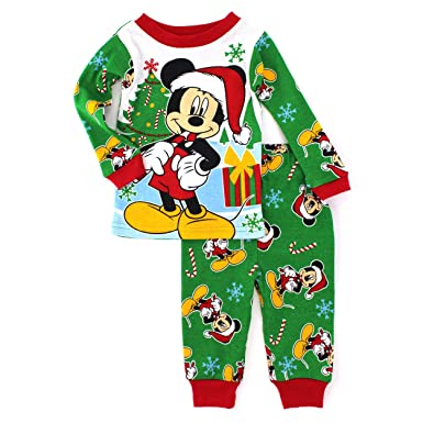 mickey mouse baby toddler christmas cotton pajamas 18m - Mickey Mouse Christmas Pajamas
