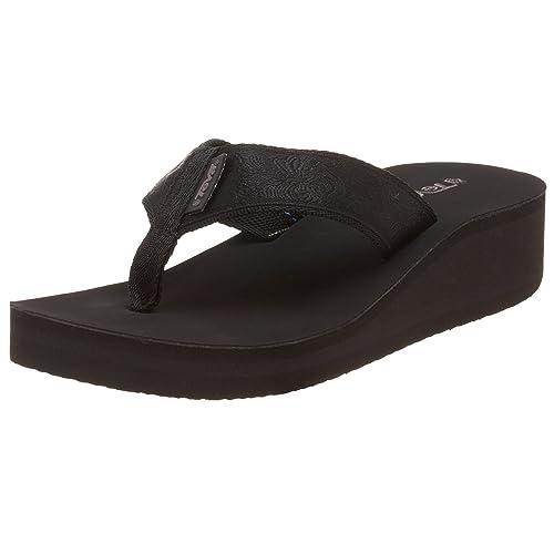 754569d1a06b0 Teva 6139 MOBO Motif Black Out Black Size  5.5-6  Amazon.co.uk ...