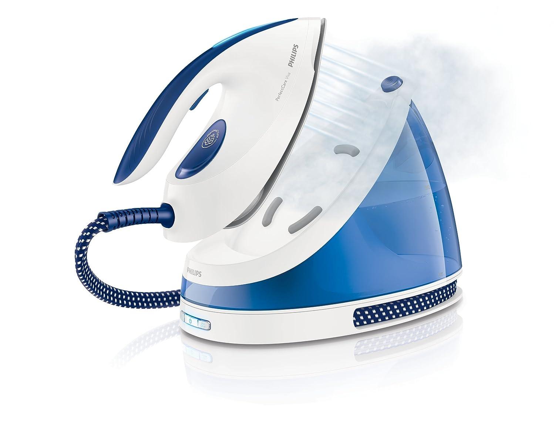 Philips Perfect Care Viva Ferro - Plancha de vapor, 2400 W, color blanco y azul: Amazon.es: Hogar