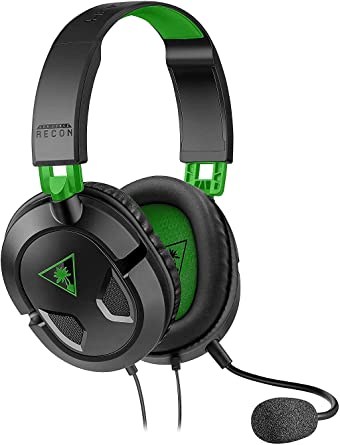 Turtle Beach Ear Force Recon 50x Stereo Gaming Headset for Xbox One & Xbox Series X S (Compatible with Xbox controller with 3.5mm Headset Jack) PlayStation 5 & PS4