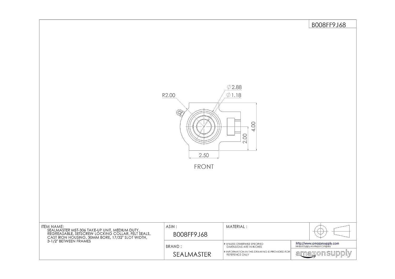 A2017 Aluminum Set Screw Type NBK MJC-55-WH-5//8-3//4 Jaw Flexible Coupling 5//8 and 3//4 Bore Diameter