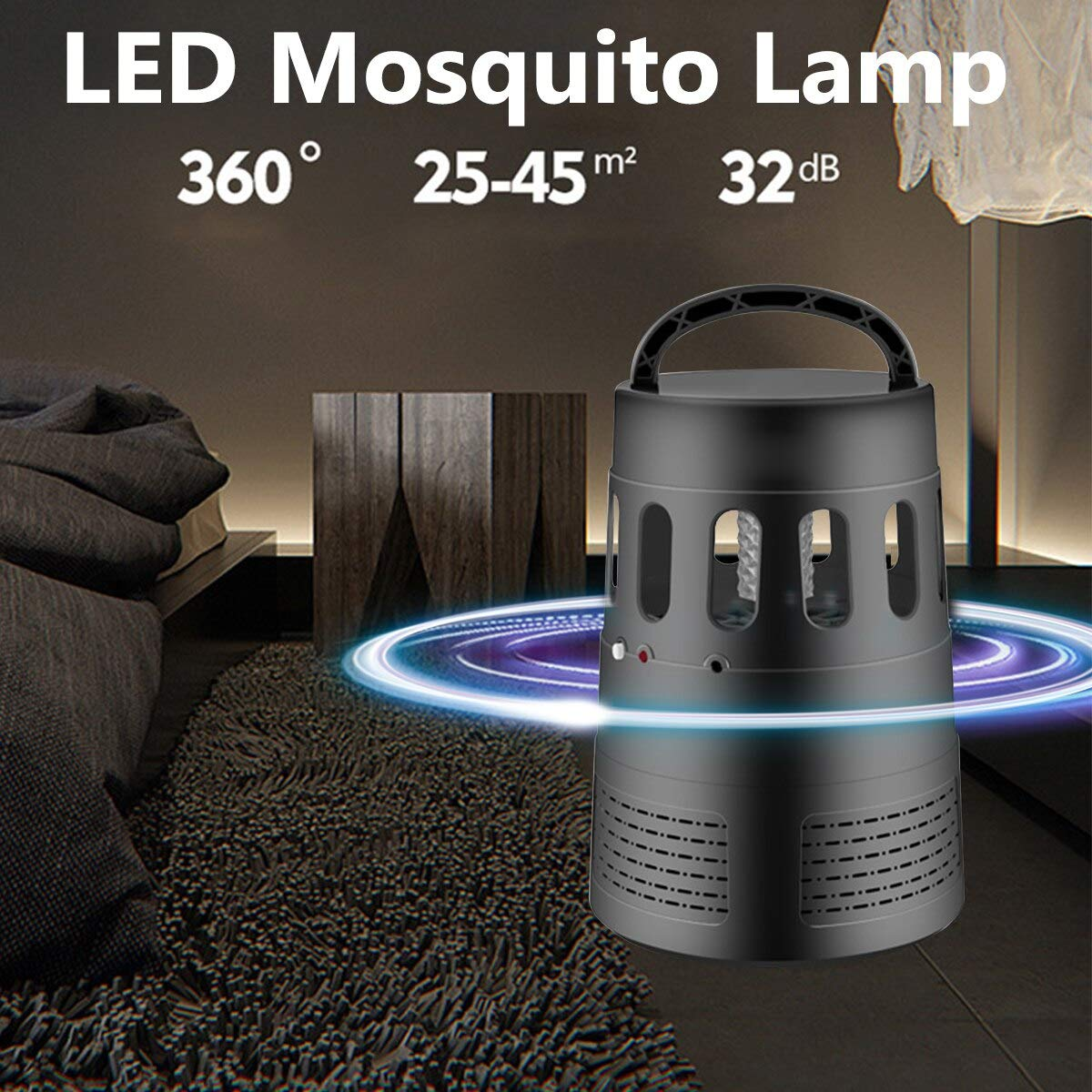 DC 5V USB Electric UV LED Light Mosquito Killer Lamp Pest Contorl Killing Insect Repellent Anti Fly Bug Traps Zapper