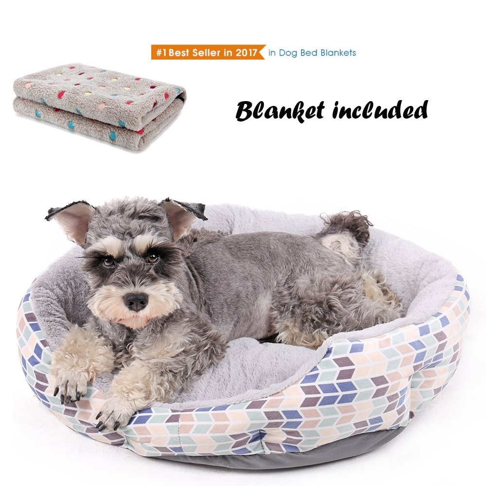 PAWZ Road Puppy Bed Cozy Cuddler for Small Dogs and Cats 10 Set
