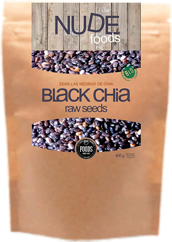 NUDE Chia Negra Premium   Bio Certificada   Fuente de Omega-3 ...