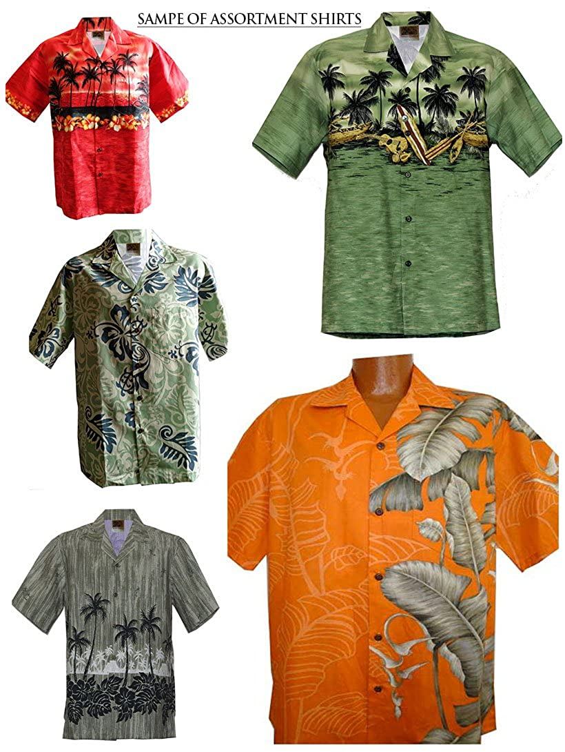WinnieFashion 2017 Pono Fashions Hawaiian Aloha Shirt by Cotton USA /