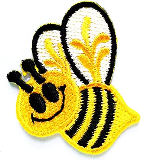 Jackets Cute Bumble Iron On Embroidered Applique Decoration Sewing Patches for Bags Jeans Clothes DIY Patches PAGOW 20 PCS Bee Embroidered Patches
