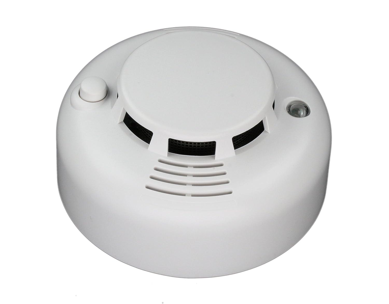 LUPUSEC Rauchmelder, EN 14604 für die XT Smarthome Alarmanlagen, kompatibel mit allen XT Funk Alarmanlagen, Alarmierung per APP, SMS, E-Mail, uvm., batteriebetrieben
