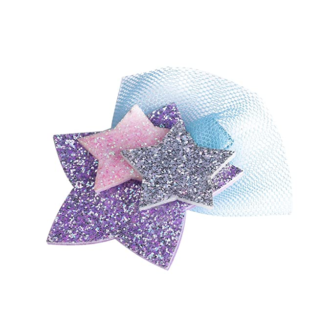 Amazon.com: feeshow bebé niña estrellas de purpurina ...