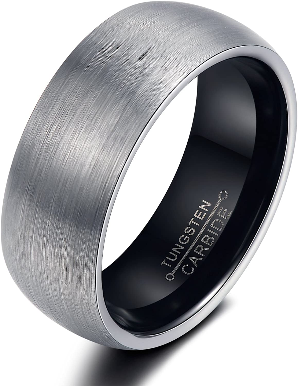 Rockyu ジュエリー ブランド 人気 タングステン リング レディース 6㎜ セレブ ファッション タングステンリング 指輪 13号